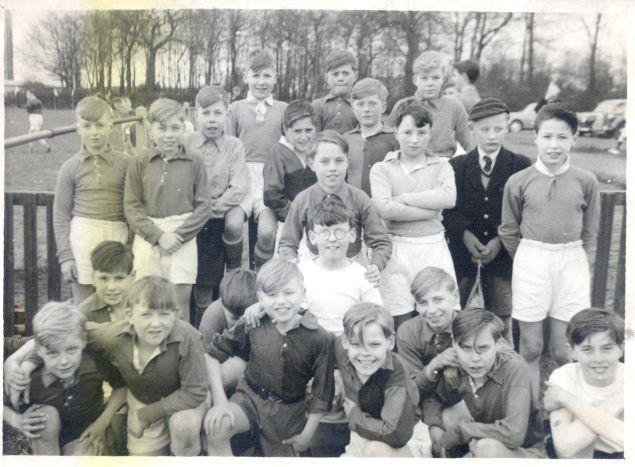 Wigan Grammar School, early 60s.