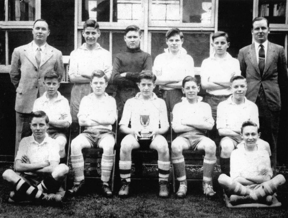 Ashton Secondary Modern Lythgo Cup winners 1952-53