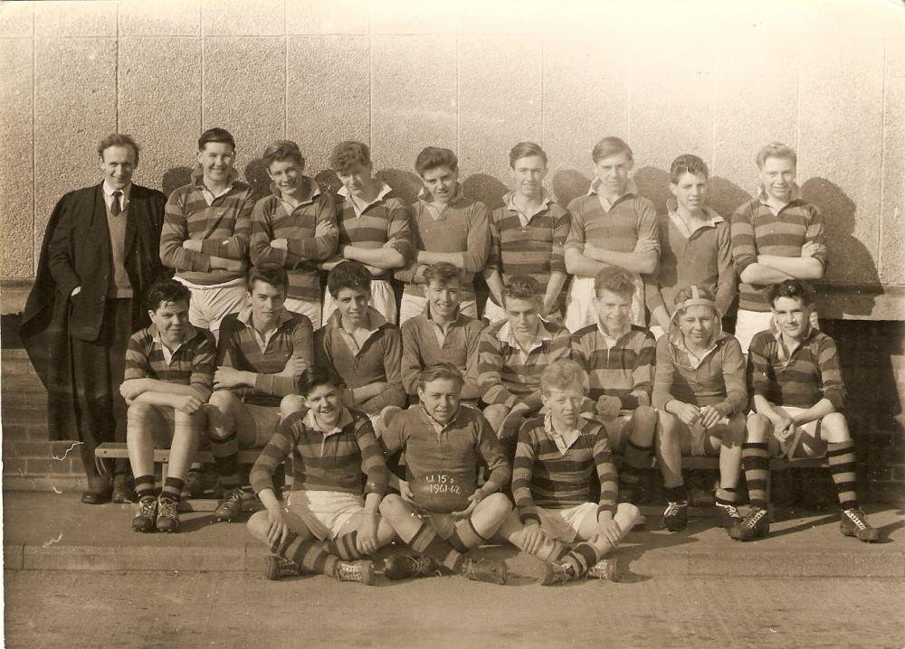 school rugby team 1961/62