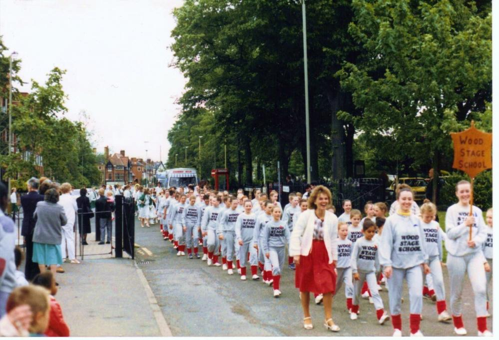 GALA  DAY  IN  LEICESTER  1987