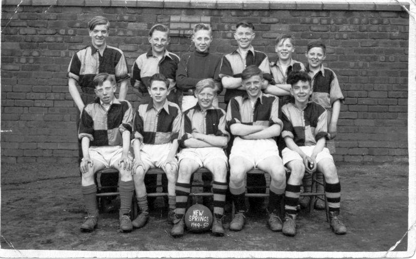 St John The Baptist football team, 1949.