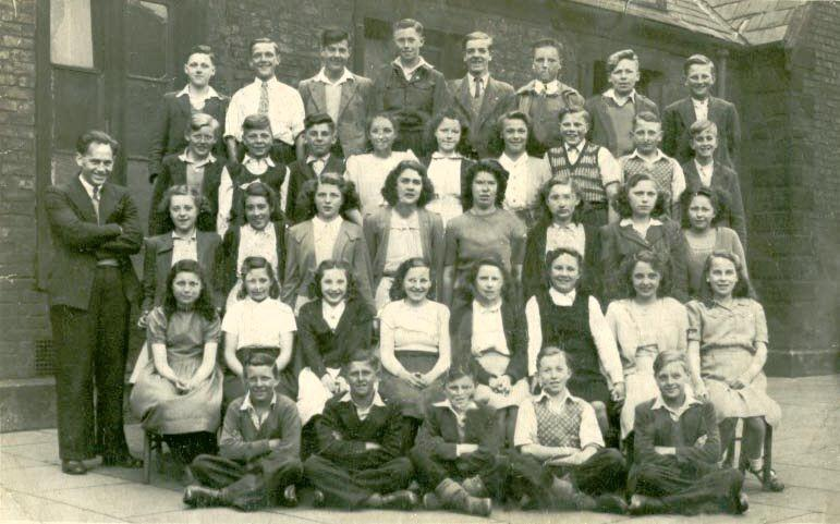 St John The Baptist class photo, 1949.