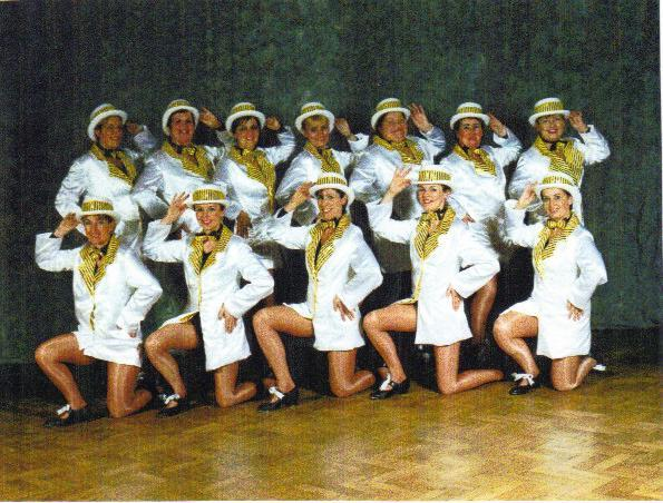 ADULT TAP TROUPE SHOWTIME 2001