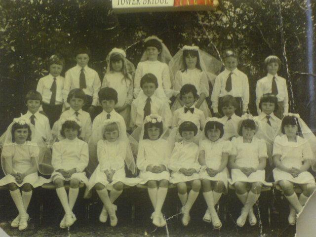 st benedicts holy communion 1977