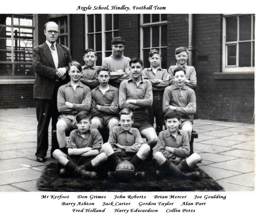 Argyle Street, School Football Team