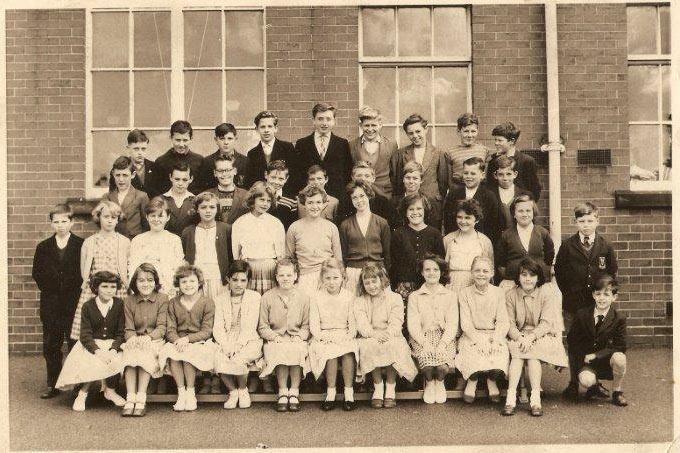 Argyle senior school circa 1960
