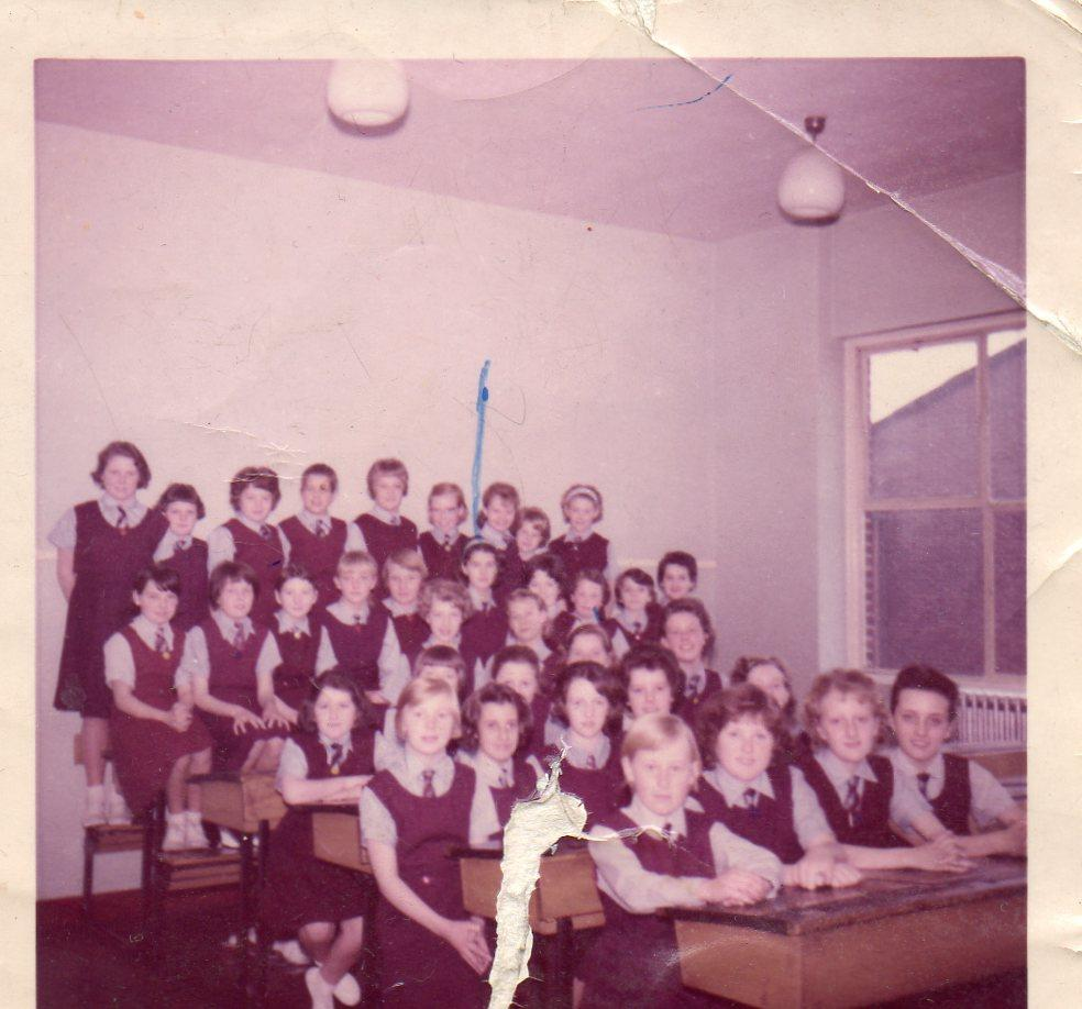 First Year Class 1962 St Thomas More