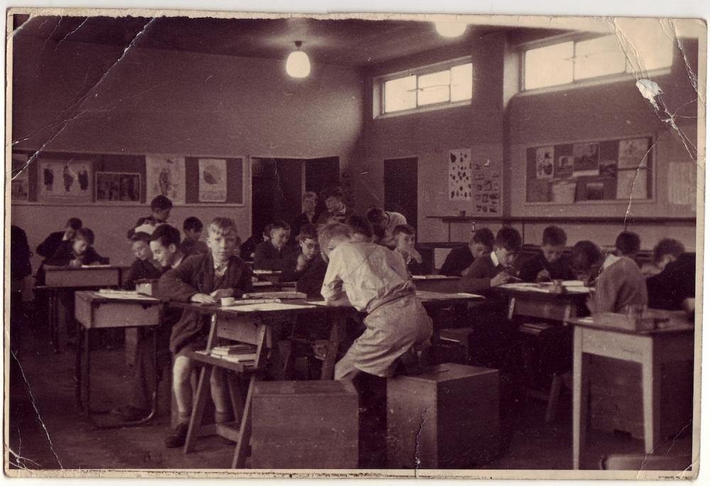 Tommy Moore Art Room c1960