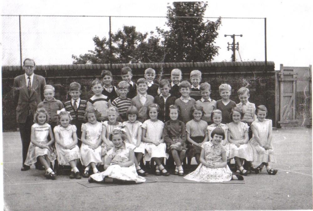 School Photo about 1960