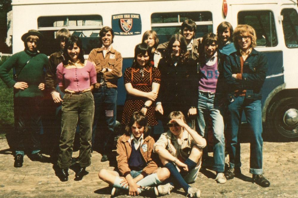 Deanery High School geography field trip to Anglezarke and Rivington 1971 or 72