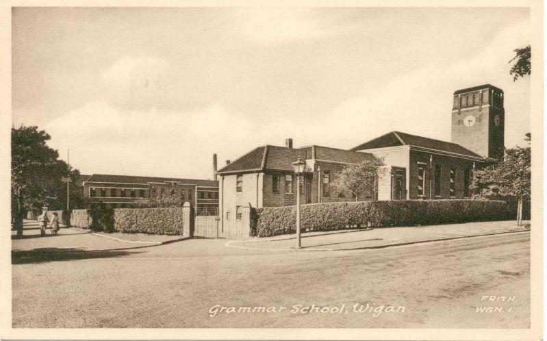 Wigan Grammar School.