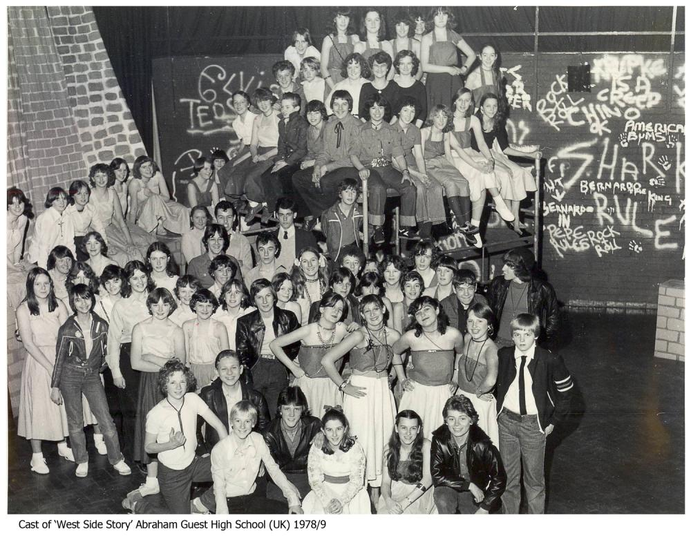 Abraham Guest - Cast of West Side Story - 1978/9 (I think)