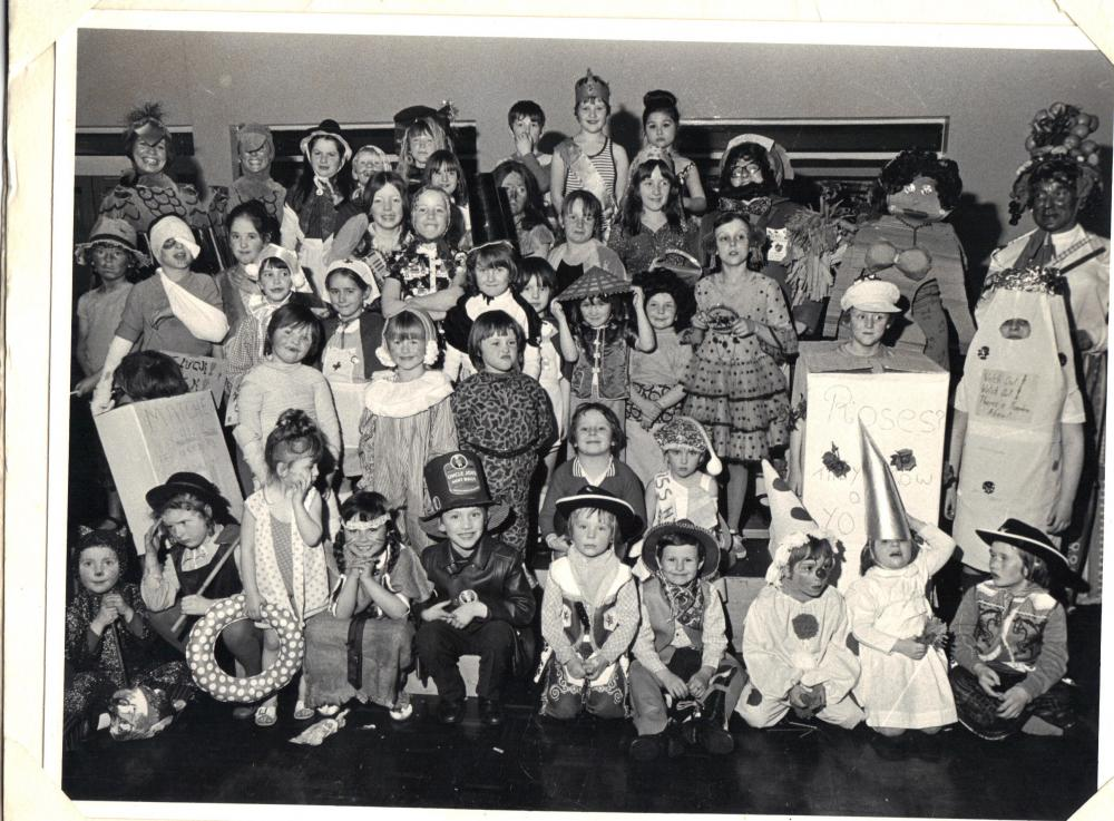 fancy dress  st catherines about 1972