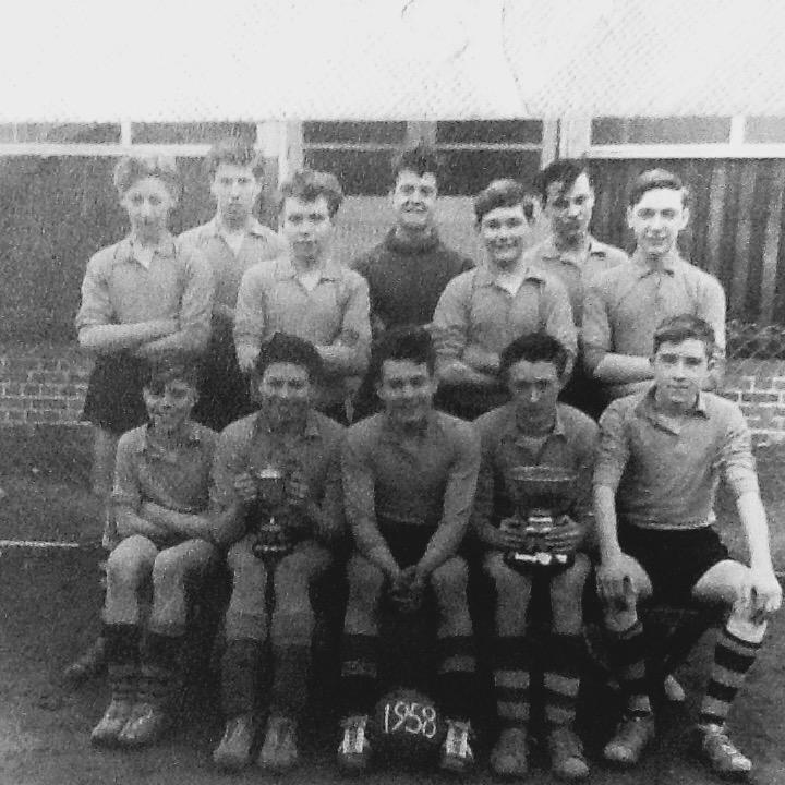 Argyle street football team 1958