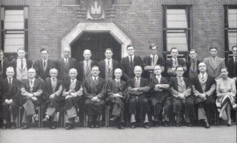 Staff of the Grammar School 1952