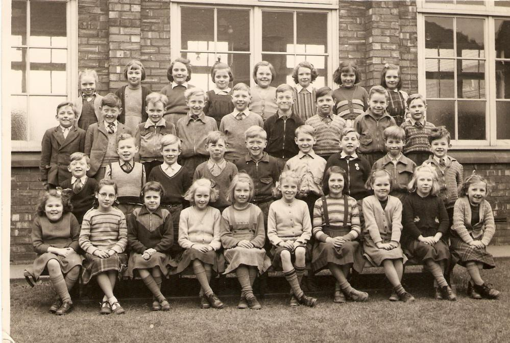 Shevington Junior School 1955