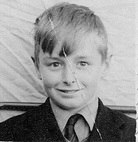 Fred at Wigan Grammar School 1957
