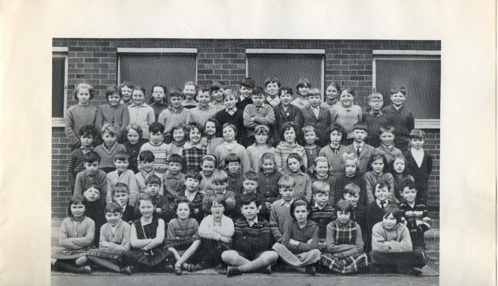 Junior school children.
