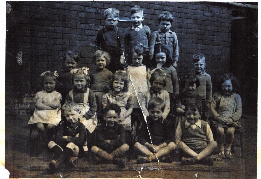 Downall Green R.C. Junior Mixed 1950 about