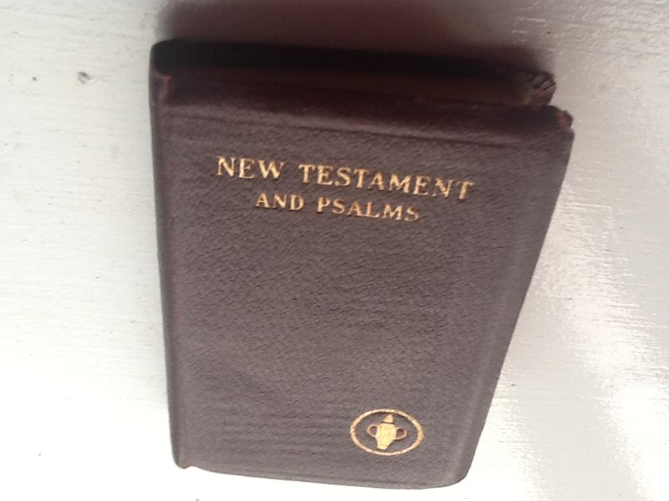 Gideons New Testament and Psalms