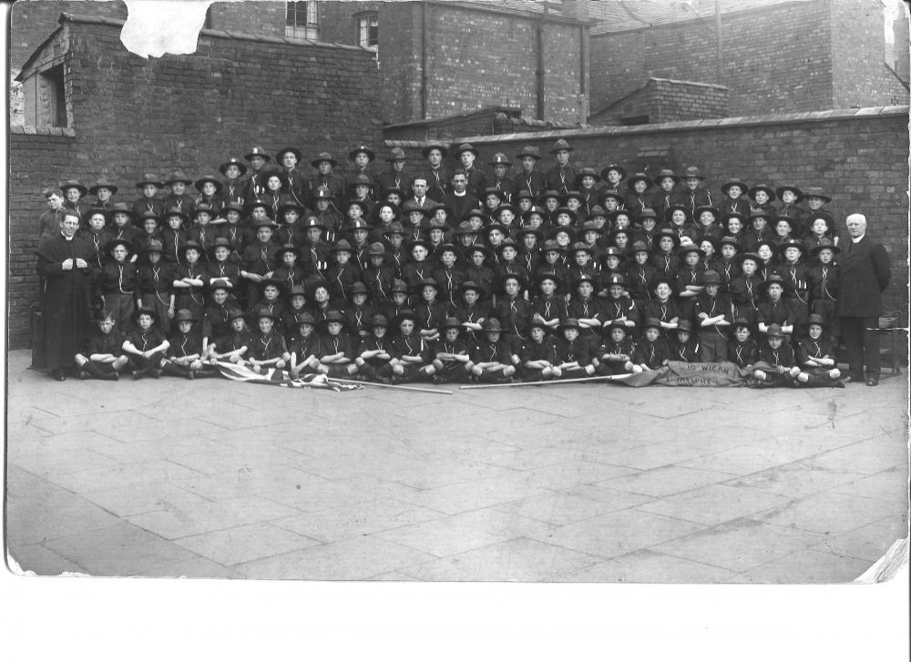 10th Wigan St.Josephs Scouts 1935