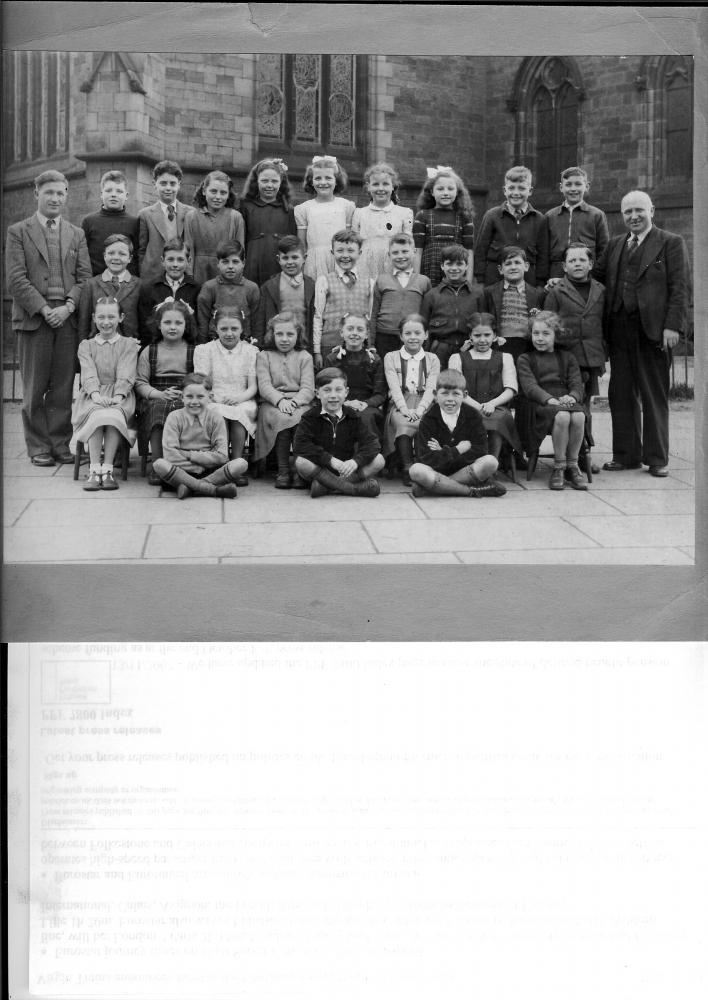 Mr. Smith's class at Poolstock C of E School 1952