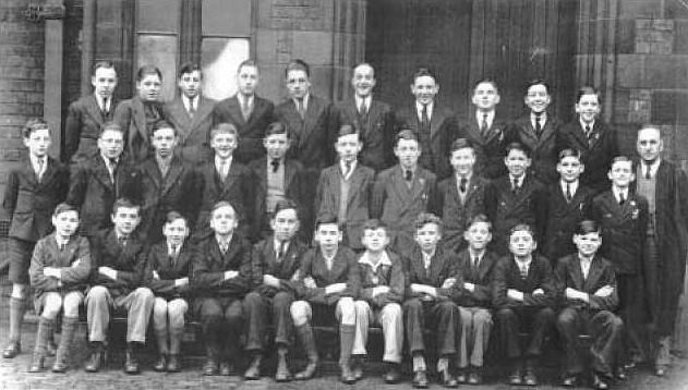 Wigan Grammar School Form 5C, 1935.