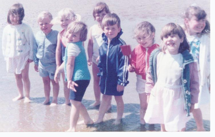 New Springs Nursery seaside trip 1984