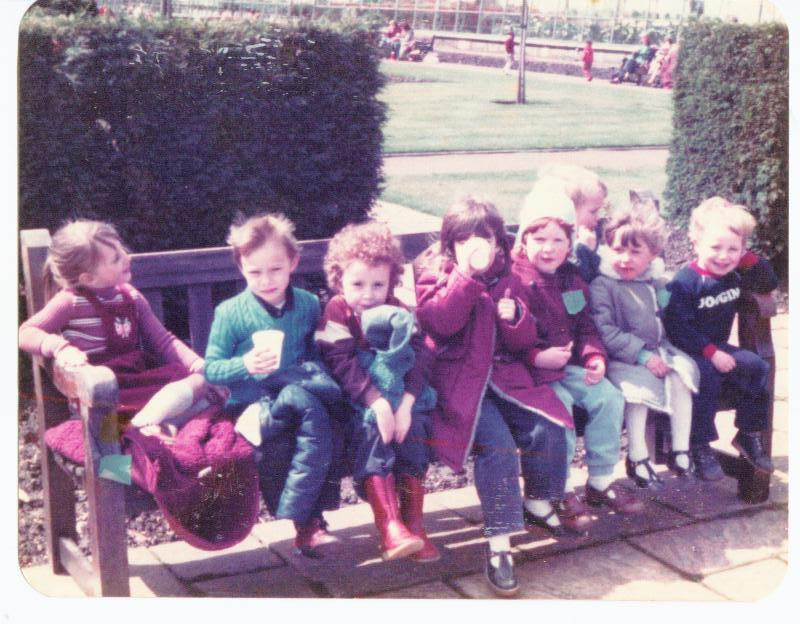 New Springs Nursery trip to Haigh Hall 1983