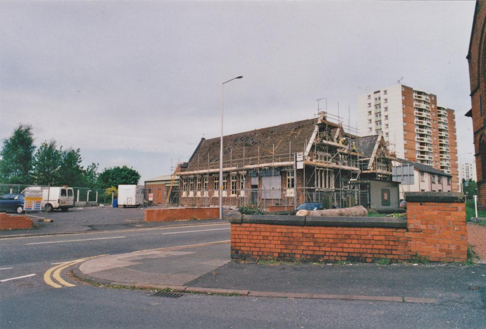 Warrington Lane School demolition