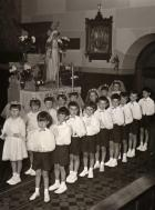 First Holy Communion Group, 1968/9.