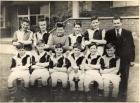 TLS team which won the Lythgoe Cup in 1956-57.