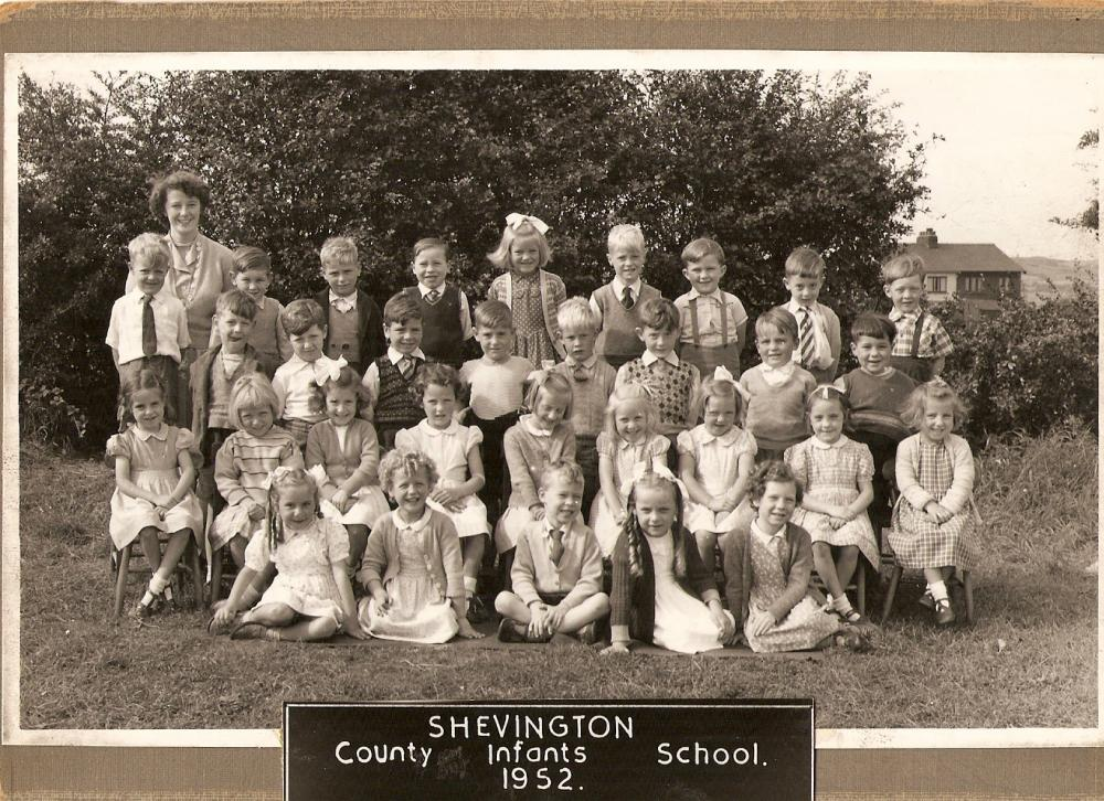 Shevington County Infants School 1952