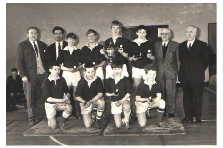 2nd year rugby sevens winners 1967