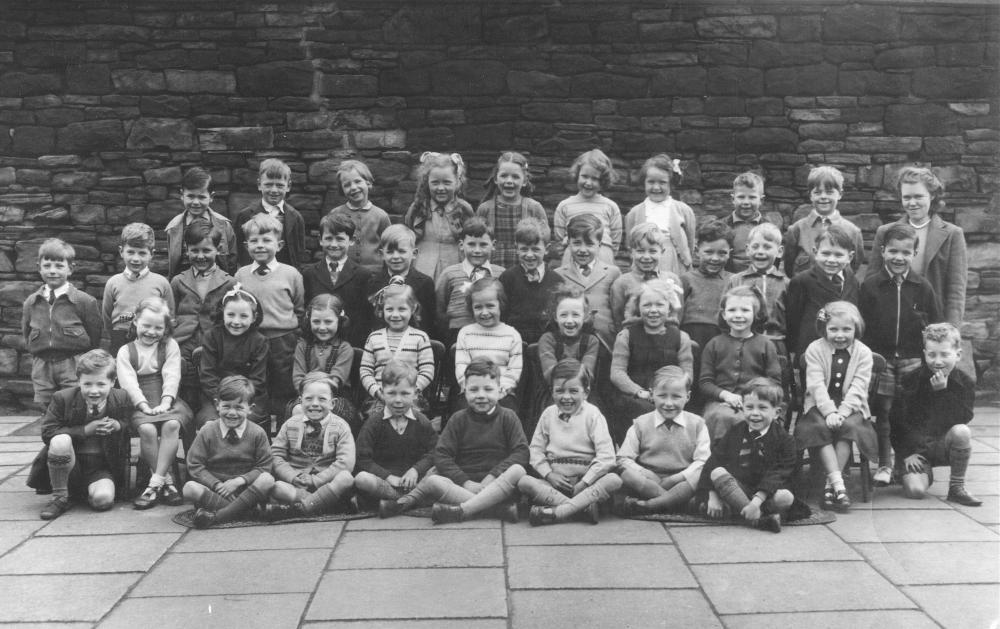 Middle Infants Class, May 1951.