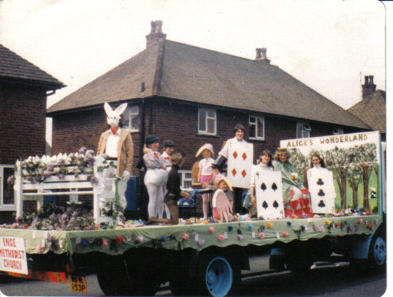 Ince methodist carnival float