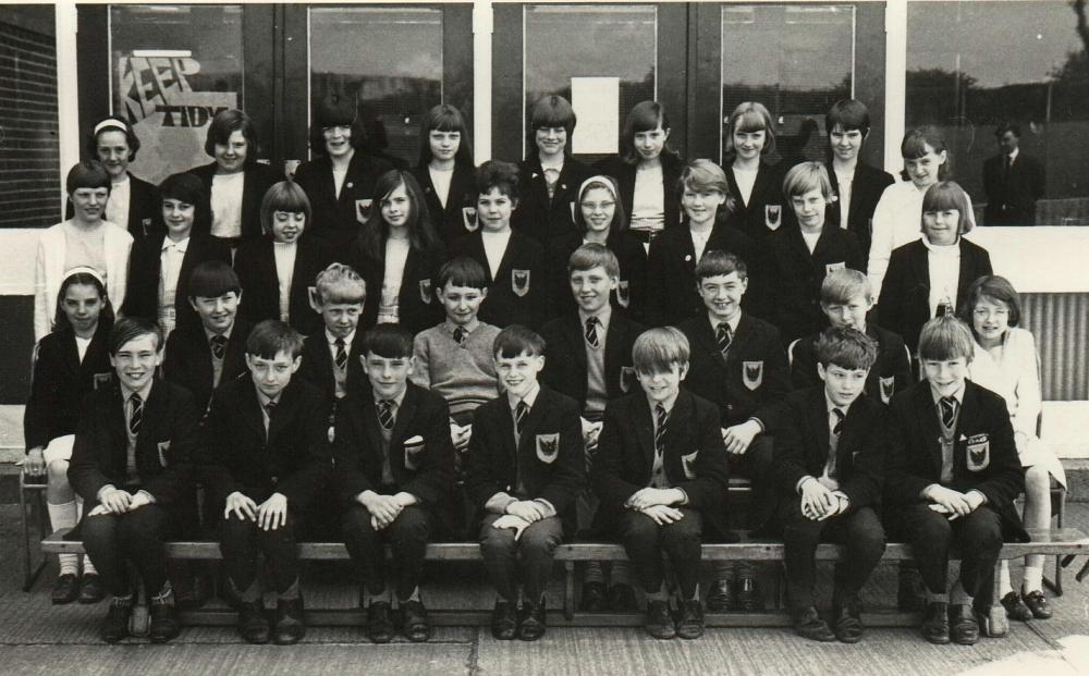 First Year Photo 1-14 Upholland Secondary School Nr Wigan