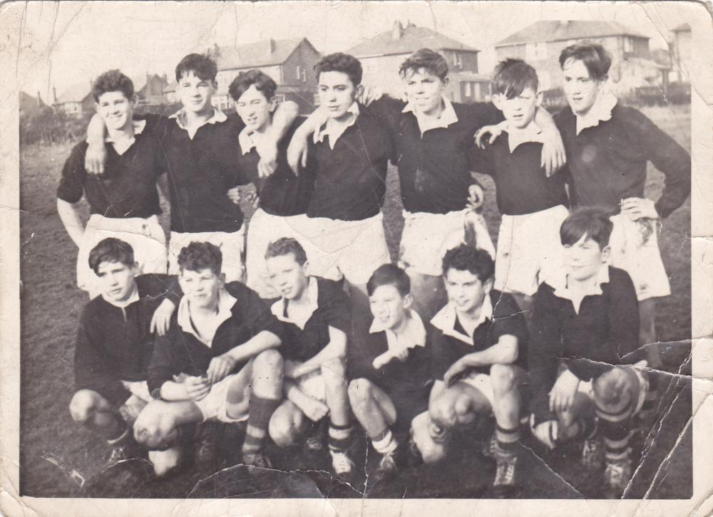 all saints rugby team   about 1960