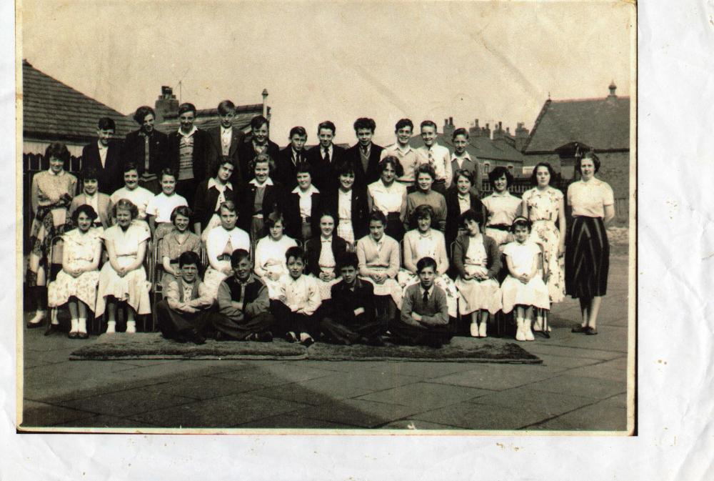 Argyle Street School  about 1956