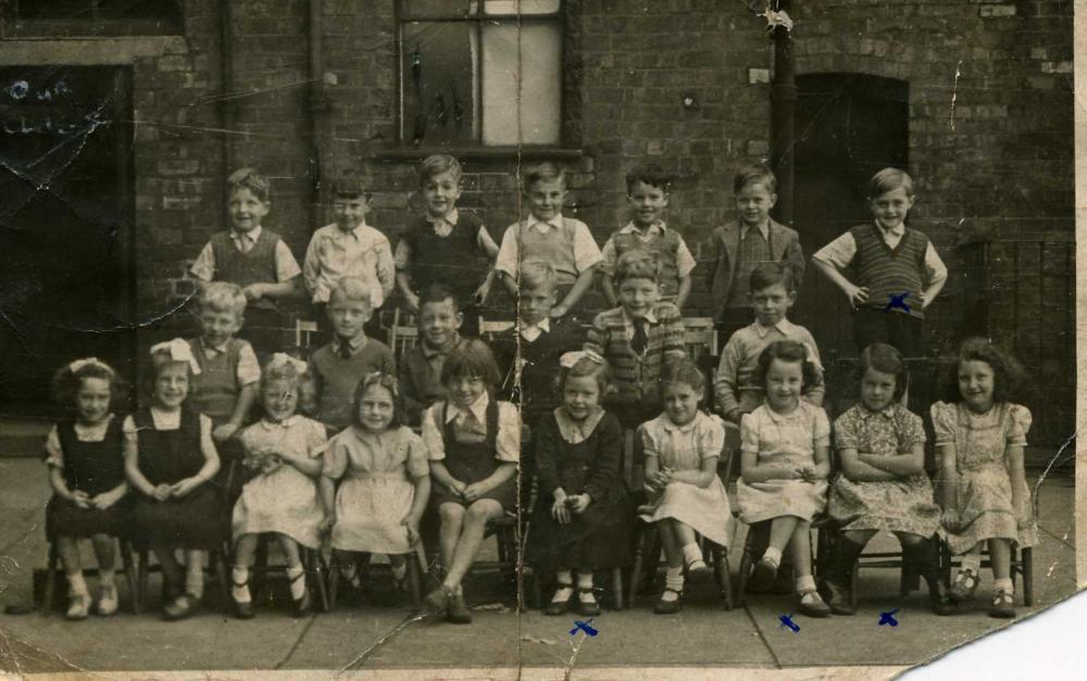 St Catherines Junior School circa 19448/49
