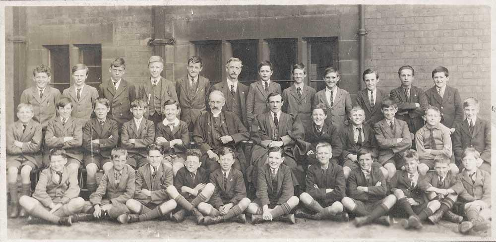 Wigan Grammar School, c1922.