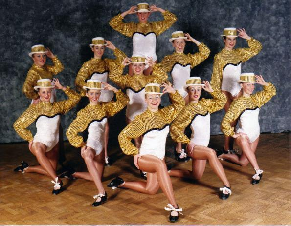 SENIOR  TAP  TROUPE  SHOWTIME  2001