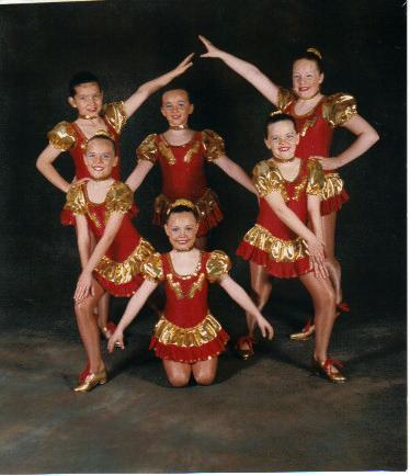 JUNIOR  TAP TROUPE SHOWTIME  1996
