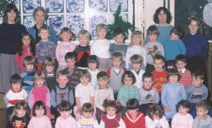 New Springs Nursery Class photo 1985