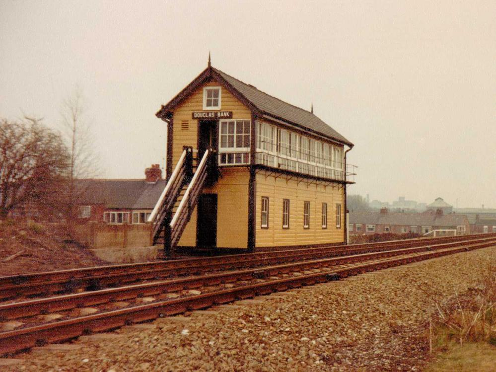 Douglas Bank Signal Box 1978