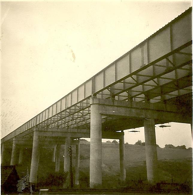 Gathurst Viaduct, 09-09-1961