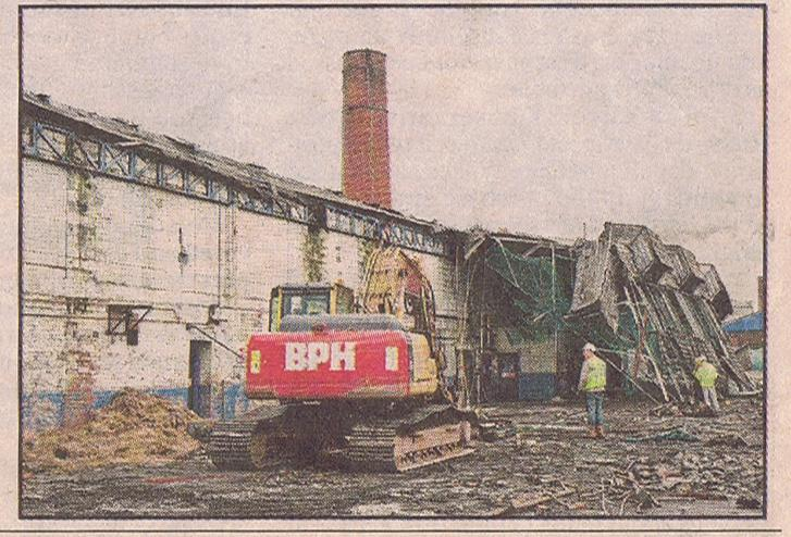 Newspaper cutting December 2011 Bus Sheds   3