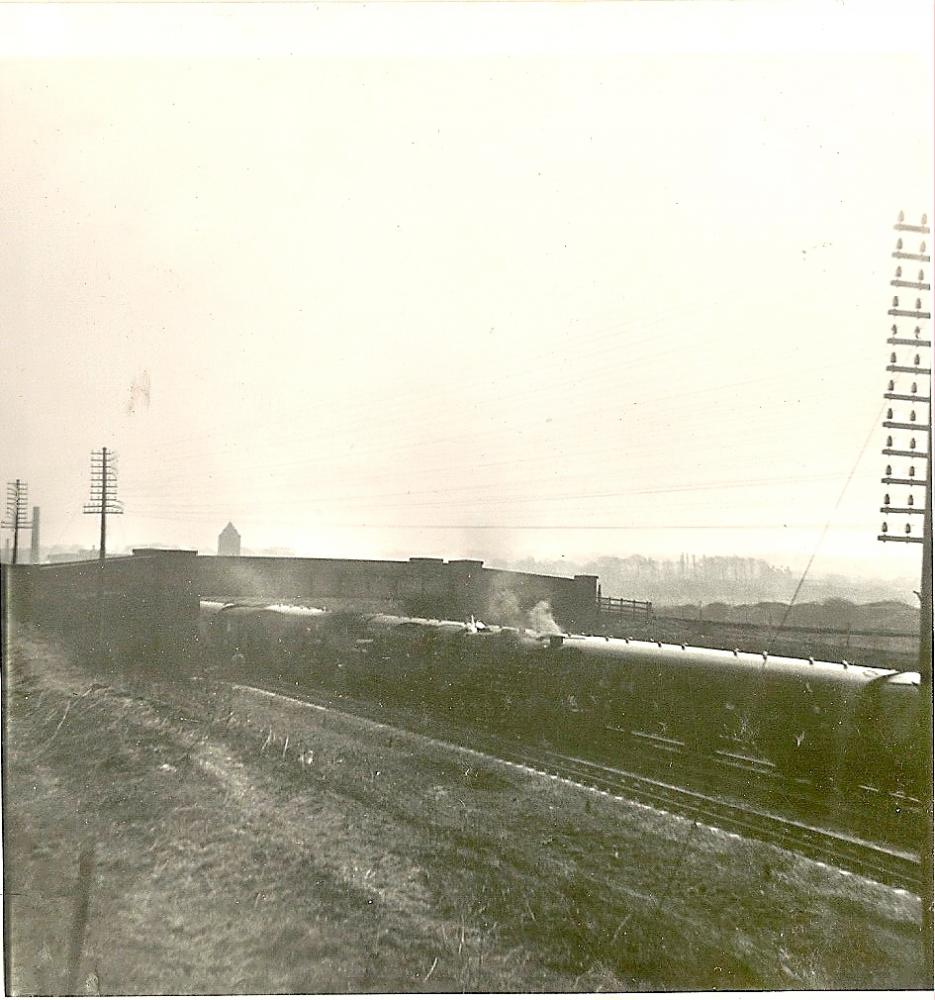 Rail works on the WCML @ Bradley.28-03-1965.