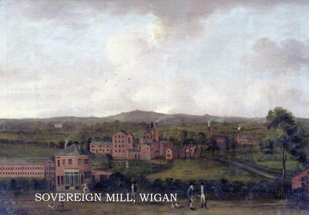 SOVEREIGN MILL EARLY 1800'S