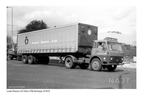 Louis Reece Lorry 1972